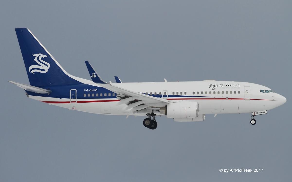 World of Aircraft Pictures: Sino Jet Boeing B737-7CG/BBJ P4-SJM