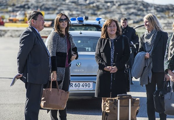 Crown Princess Mary of Denmark started her three days Greenland visit together with Mary Foundation