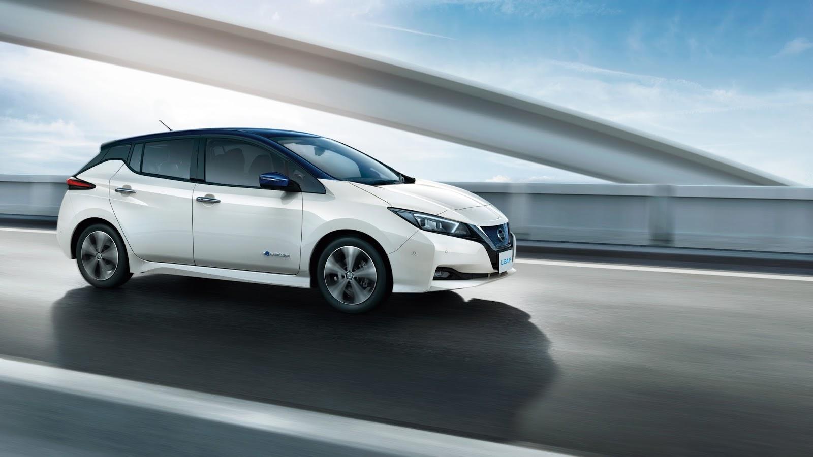 Το νέο Nissan LEAF κατέκτησε το βραβείο Best Small Family Car