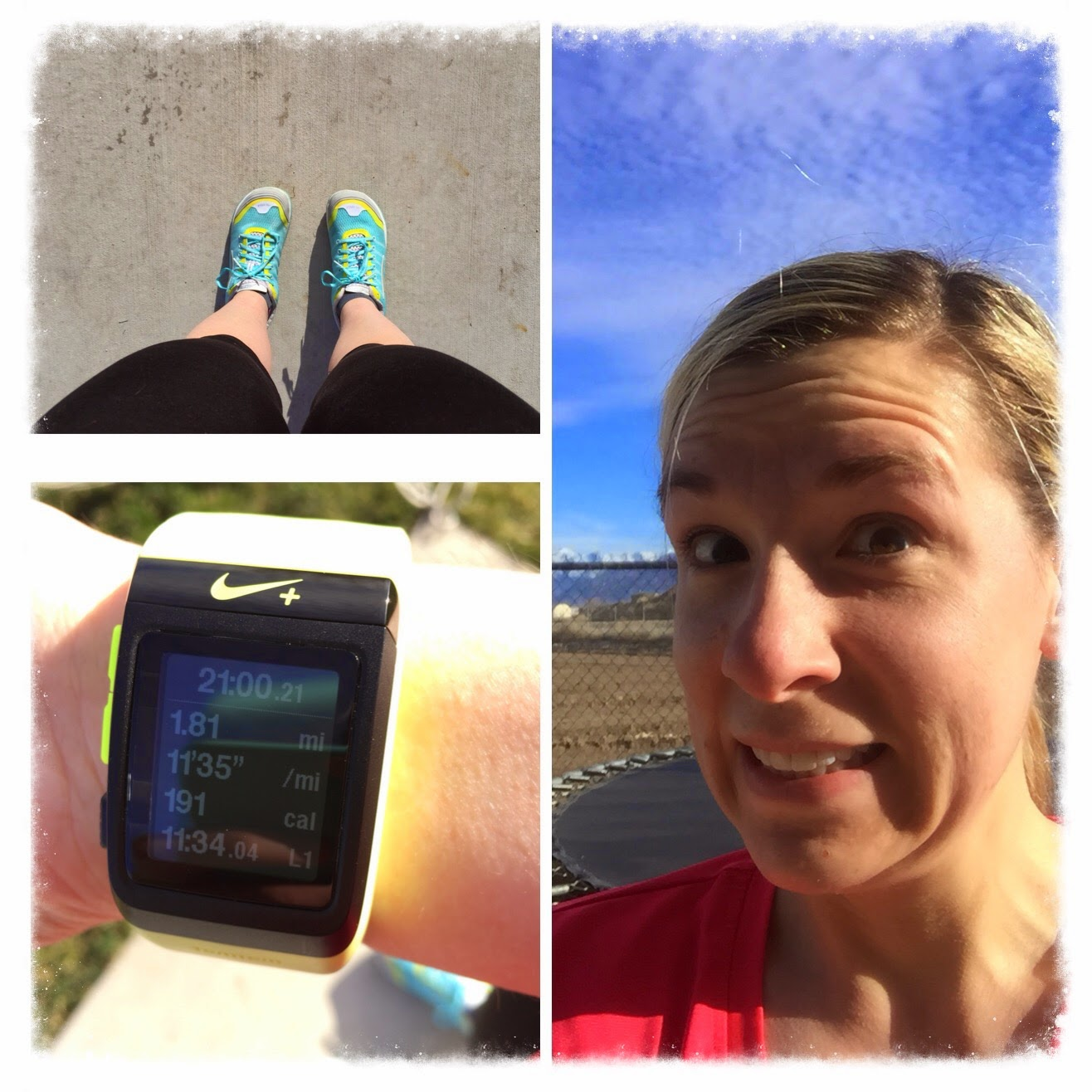 running and feeling good