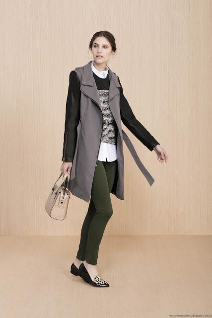 Moda sacos y tapados invierno 2016 ropa de mujer Vitamina.