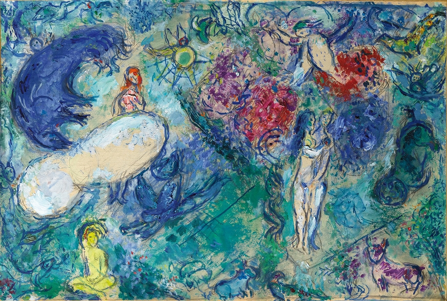 Marc Chagall ~ Pintor surrealista judeu