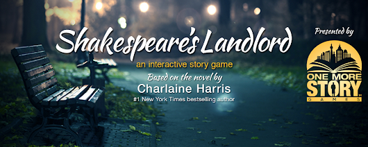 Shakespeare's Landlord with Charlaine Harris
