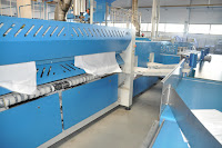 High Production Ironingline For Sheets