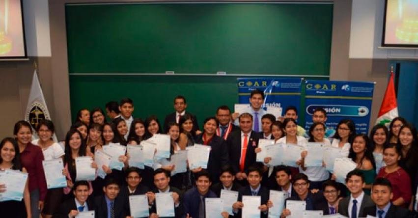 COAR Piura entrega diplomas de Bachillerato Internacional
