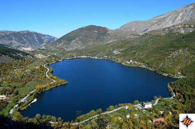 Lago di Scanno a forma di cuore