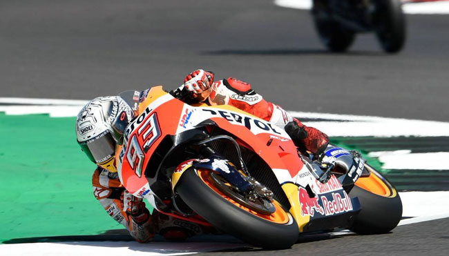 Kualifikasi Silverstone: Pecahkan Rekor, Marc Marquez Sabet Pole Position...!!
