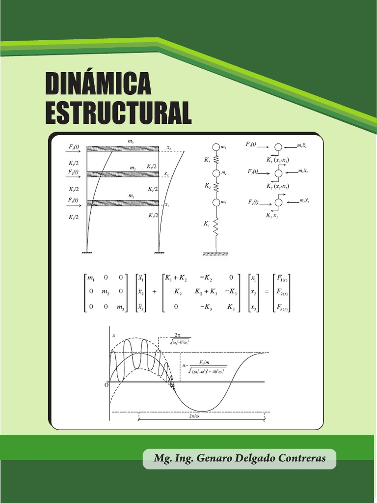 Dinámica estructural – Genaro Delgado Contreras