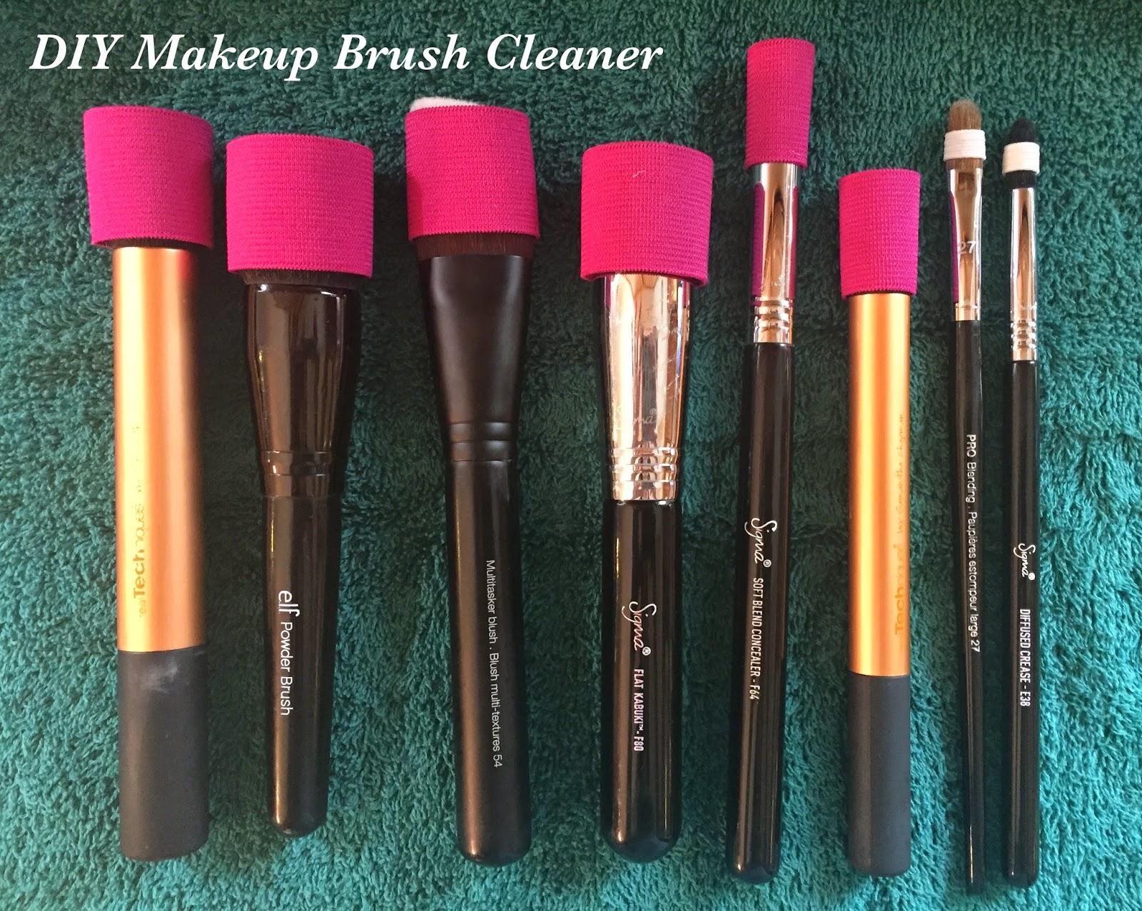 Diy makeup brush cleaner