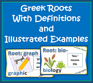 Greek-Roots common core for 4th and 5th grade