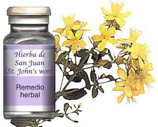 Hierba de San Juan como tratamiento para la depresión
