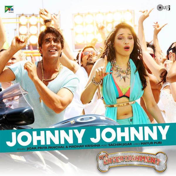 """Sachin-Jigar, Priya Saraiya & Madhav Krishnan - Johnny Johnny (From """"It's Entertainment"""") - Single Cover"""