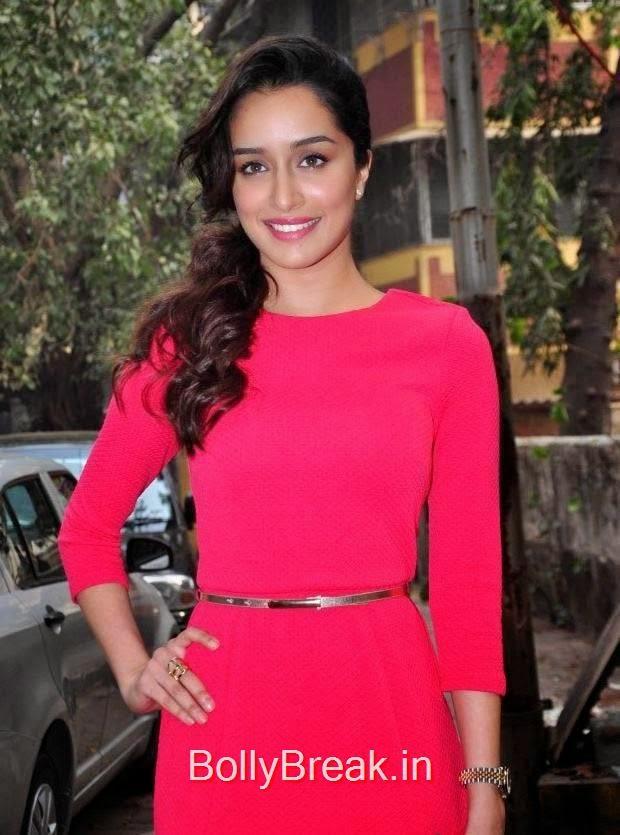 Shraddha Kapoor Pics in Red Dress, Hot Pics Of Shraddha Kapoor in red dress from LAKME Event
