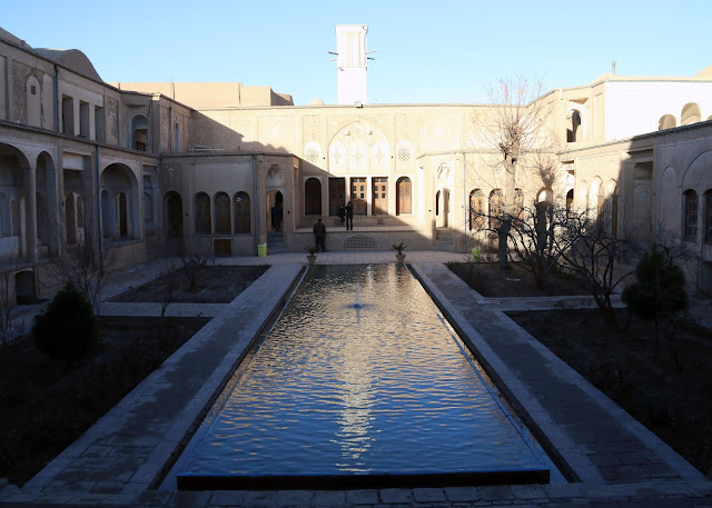 Tabatabai House of Kashan, Iran.