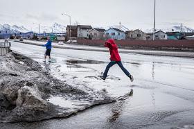 Alaska sufre Historica ola de calor .