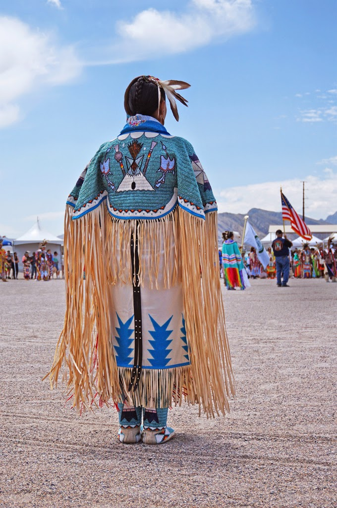 Native American Culture At An Indian Pow Wow