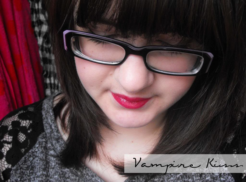 Tanya Burr's Lipgloss - Afternoon Tea, Picnic in the Park & Vampire Kiss