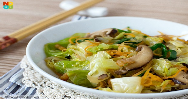 Stir-Fried Cabbage Recipe