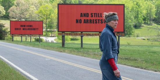 Three Billboards Outside Ebbing Missouri screening at Philadelphia Film Festival 2017
