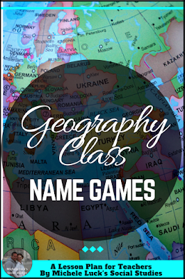 Easy to implement ideas and tips for Teaching Geography in the middle or high school classroom with lesson plan suggestions, websites to use, and activities to make learning more engaging. This part of the series focuses on learning geographic names.