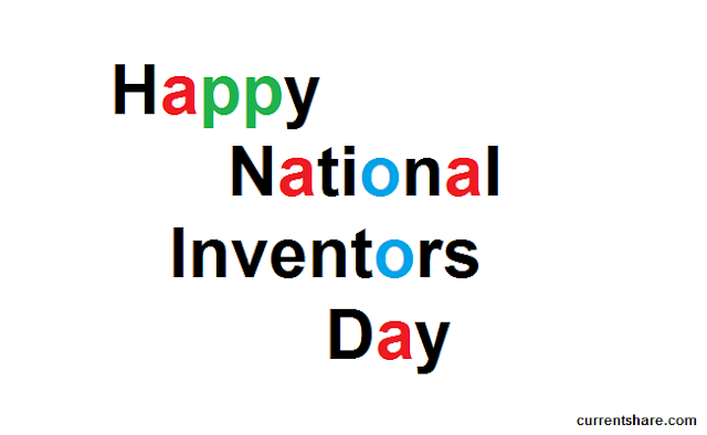 Happy National Inventors Day for the people who love to invention