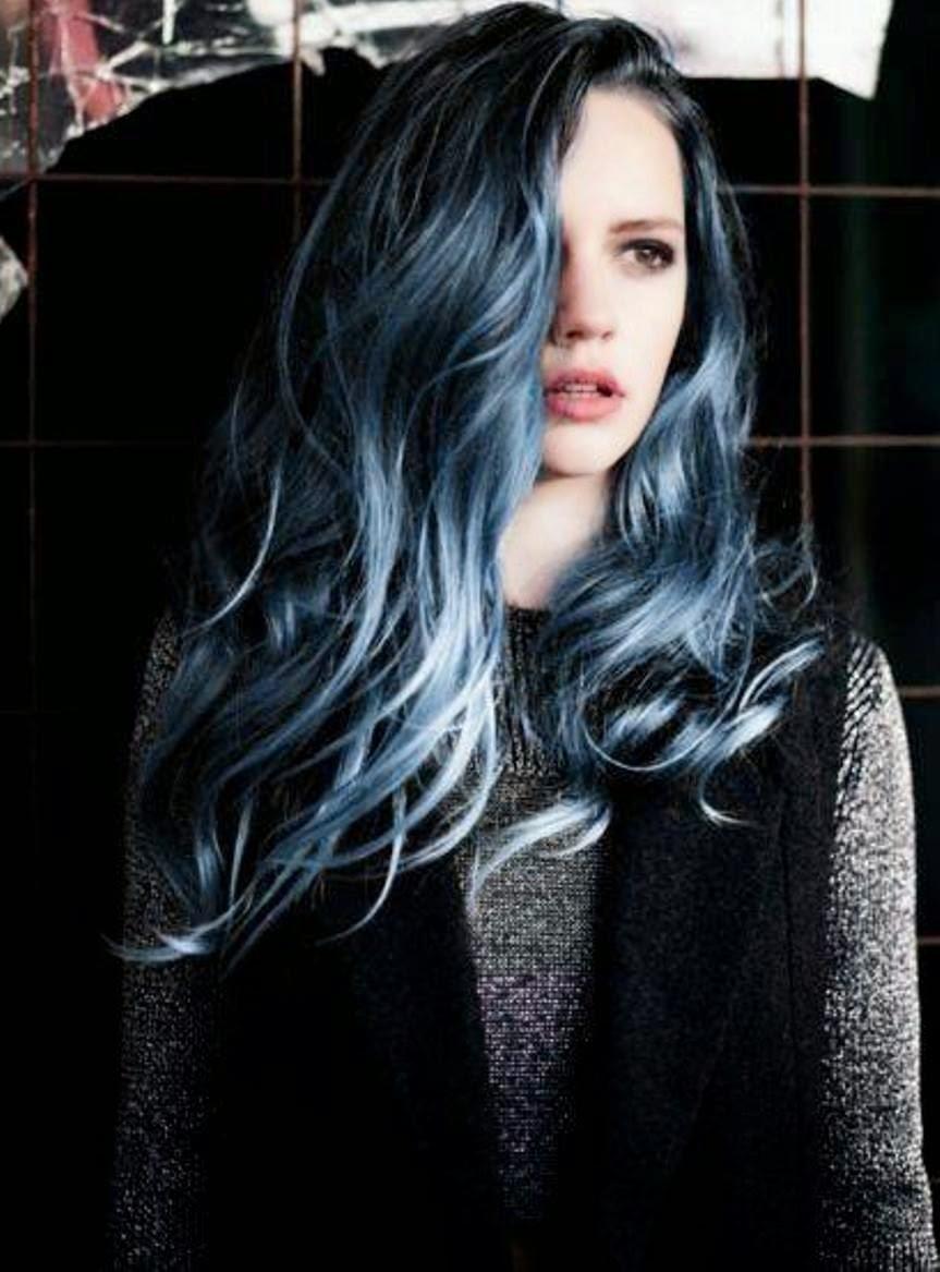 Surprising Black 39N39 Blue Hairstyles Hairstyles For Women Draintrainus
