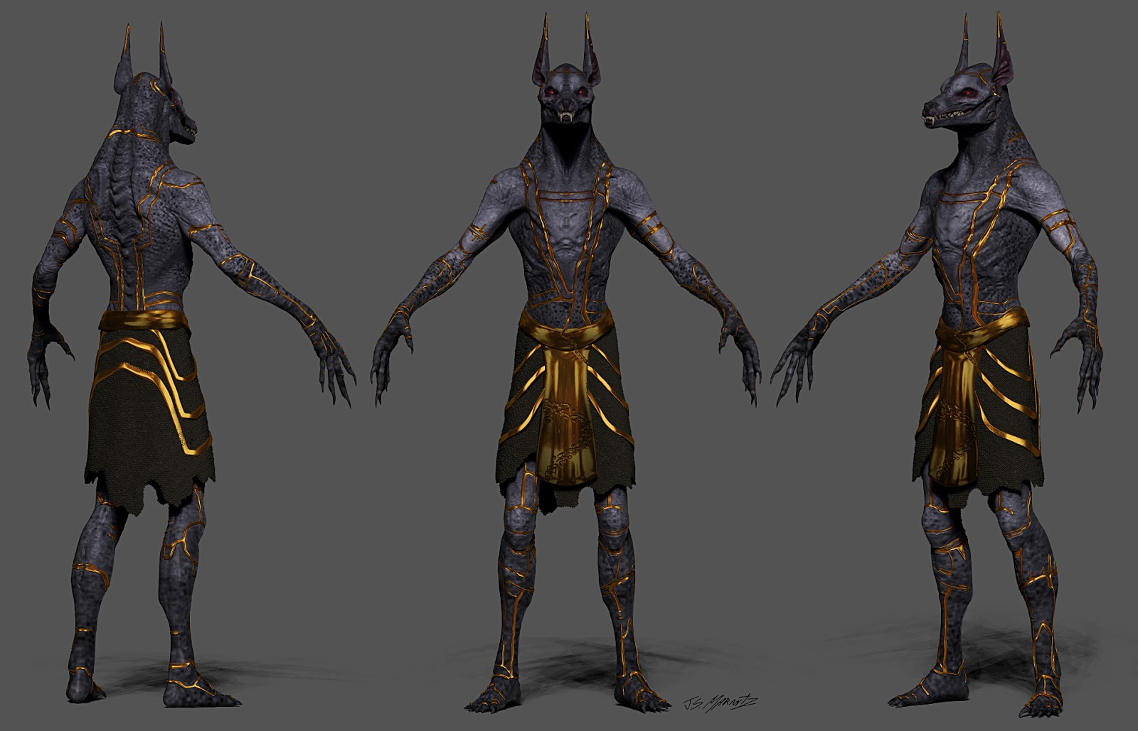 Egypt Warrior Illustration Anubis Pyramid Fantasy Art: Gods Of Egypt Concept Art
