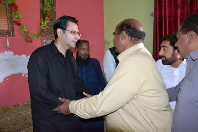 Chaudhry Moonis Elahi visits UC Ali Pur in Gujrat
