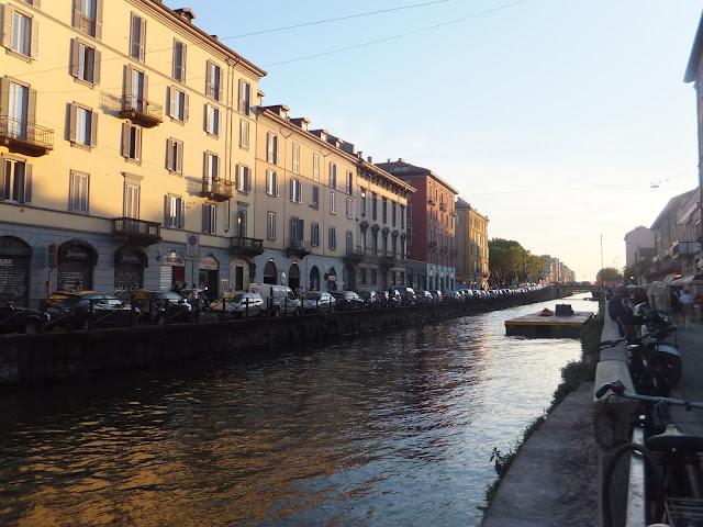 Navigli, Milano, elisaorigami, Italia, blog voyages