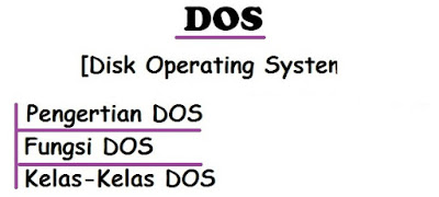 Pengertian DOS [Disk Operating System],Fungsi Hingga Kelas-Kelasnya