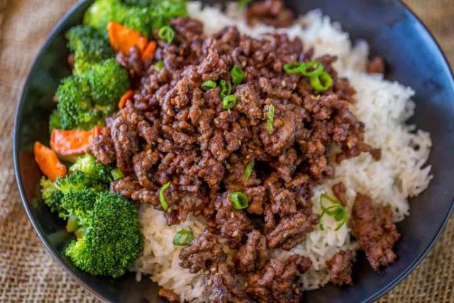 GROUND MONGOLIAN BEEF RECIPE