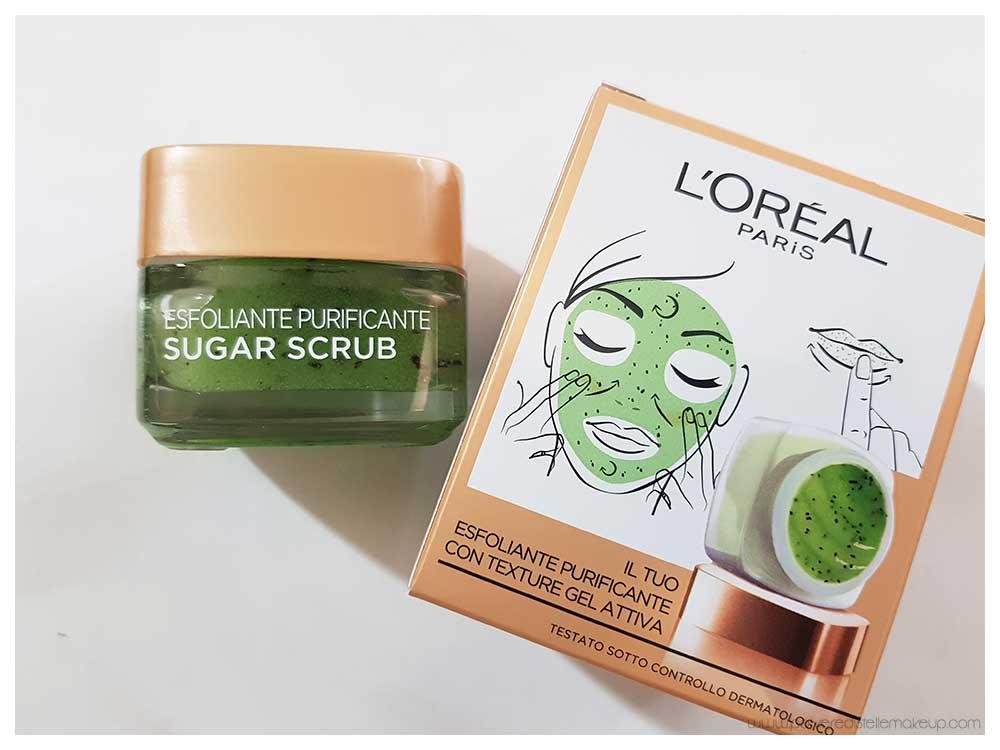 Sugar Scrub Esfoliante Purificante L'Oréal