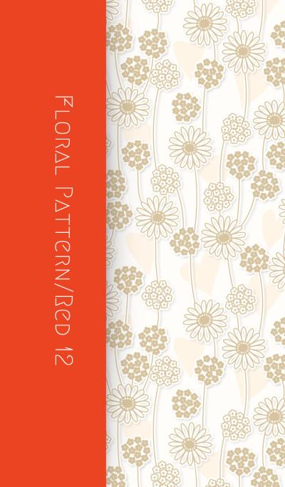 Floral Pattern[Gerbera]/Red12