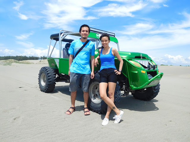 4x4 Ride at Sand Dunes Ilocos