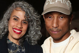 Pharrell Williams & Wife