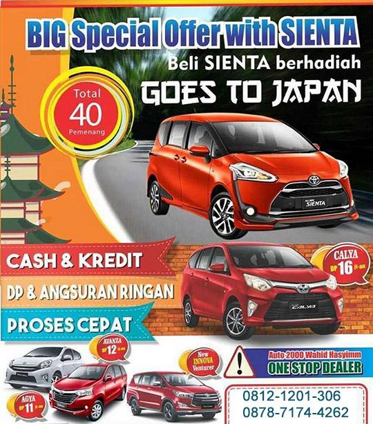 Promo Toyota Serang 2017