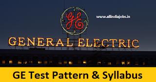 General Electric Test Pattern