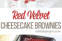 Best Red Velvet Cheesecake Brownies - Easy To Make Cake Recipe