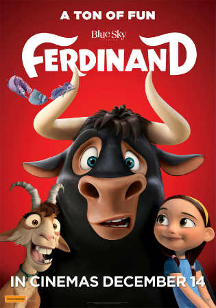 Ferdinand 2017 HDTS 700MB Hindi Dubbed x264 Watch Online Full Movie Download bolly4u