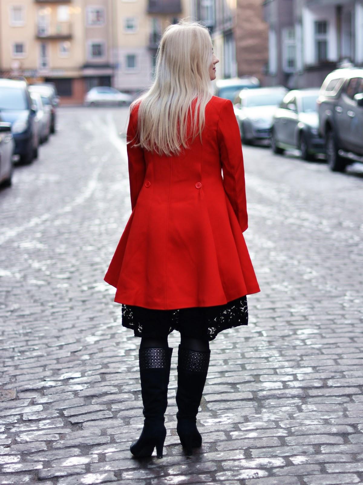 sukienka długie kozaki