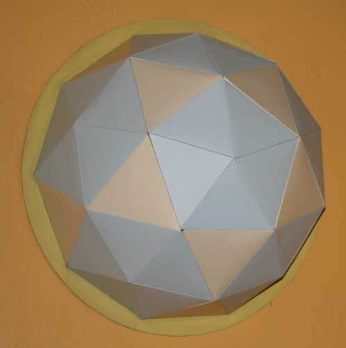 Geodesic Dome Template: Candida International: How To Make A Geodesic Dome