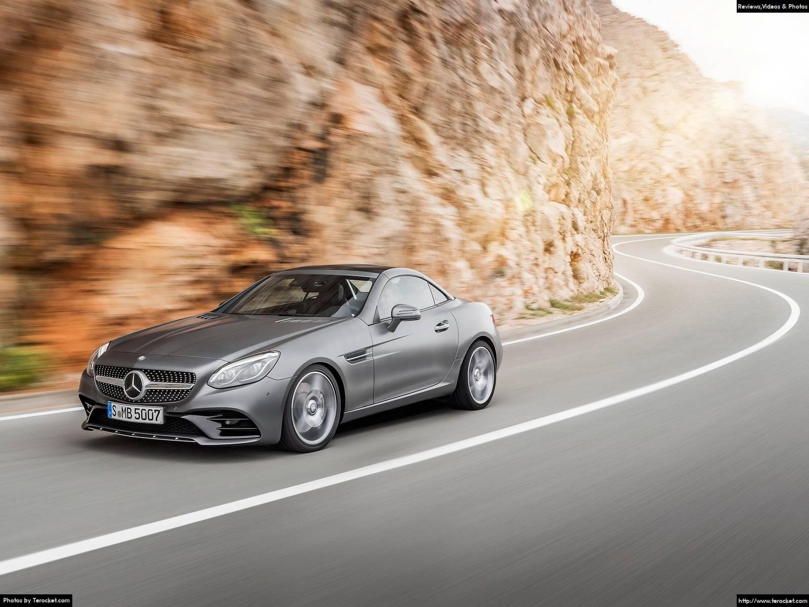 Hình ảnh xe ô tô Mercedes-Benz SLC 2017 & nội ngoại thất