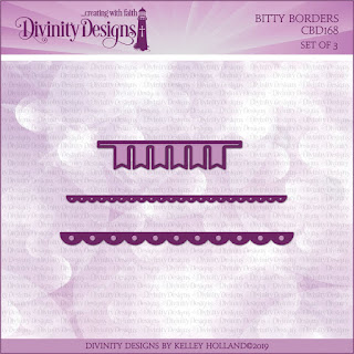 Divinity Designs LLC Bitty Borders Dies