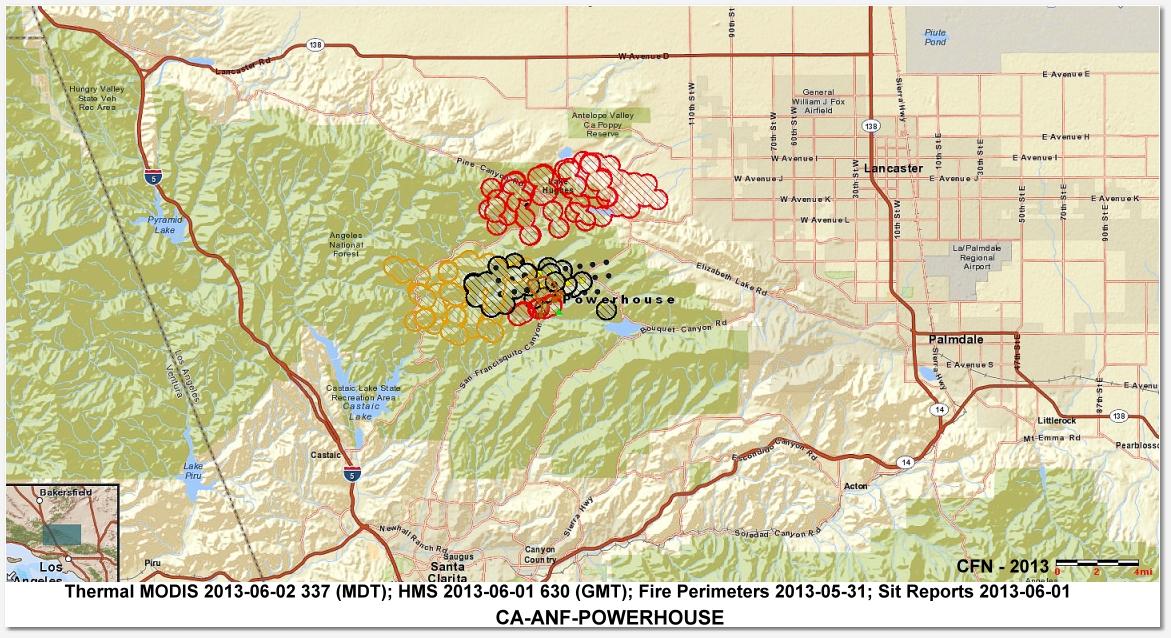CFN - CALIFORNIA FIRE NEWS - CAL FIRE NEWS : CA-ANF ... Santa Clarita Fire Map on san bernardino fire map, fresno fire map, oceanside fire map, weaverville fire map, chino hills fire map, ukiah fire map, carmel valley fire map, san marcos fire map, newhall fire map, clearlake fire map, solano county fire map, oakland fire map, trinity county fire map, monterey fire map, burney fire map, antioch fire map, weed fire map, rancho cucamonga fire map, soda springs fire map, austin fire map,