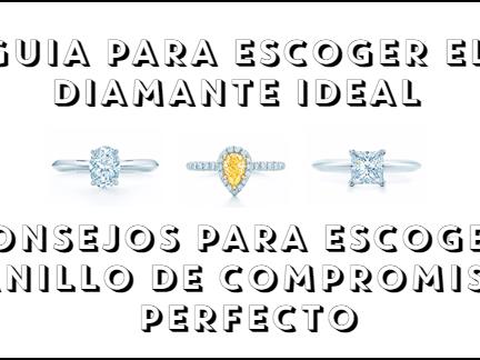 5 consejos para escoger el anillo de compromiso perfecto