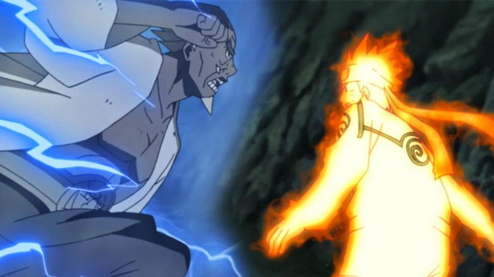 Raikage vs Naruto