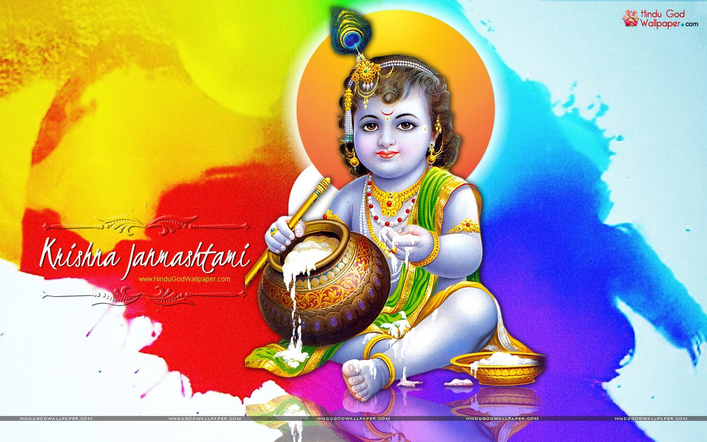 Best Happy Krishna Janmashtami Wallpapers Free Download