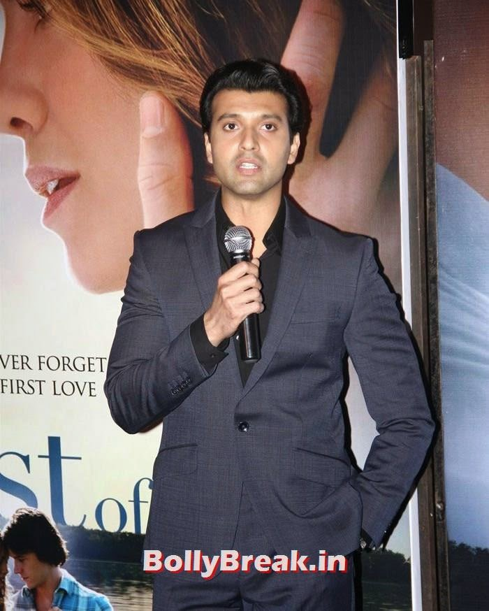 Ishan Saksena, 'The Best of Me' Premiere Photos