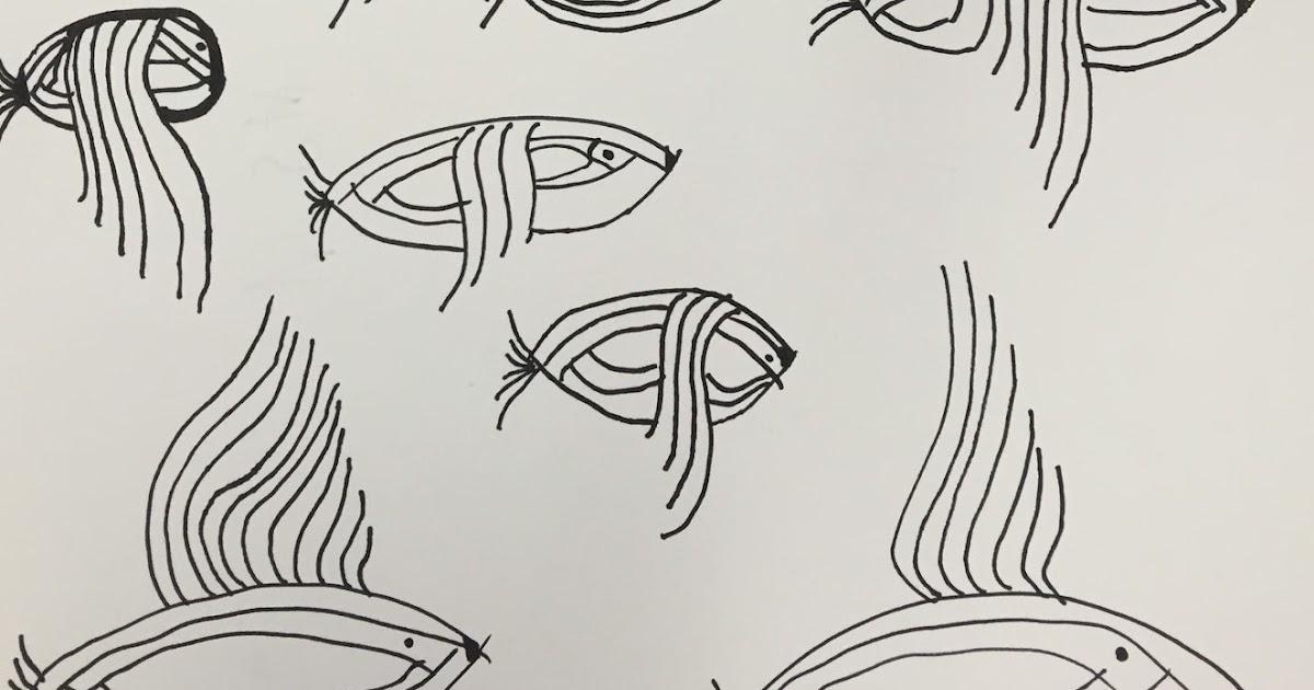 Line Art Grade 1 : Art room st grade abstract line birds part of our