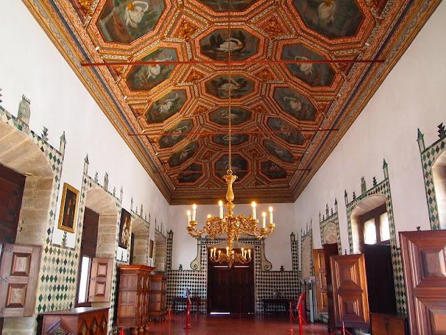 Sala do Palácio Nacional de Sintra